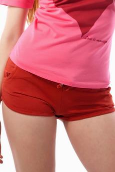 Короткие оранжевые шорты Mondigo