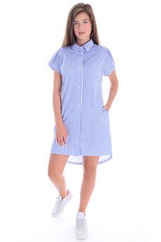 Туника-рубашка в полоску Malina